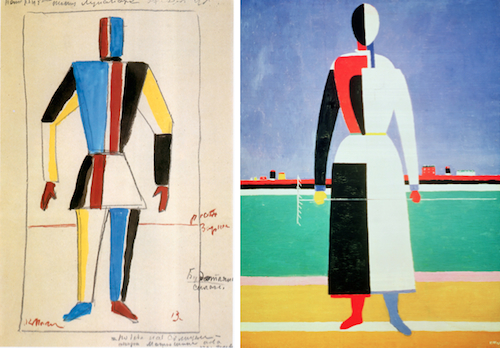 malevich figures
