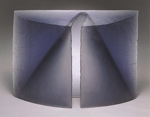 Vestment II, 1997 Stanislav Libensky and Jaroslava Brychtová, cast glass
